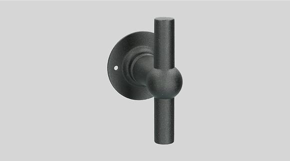 Orno Art. 124 R0-T Black Lever Door Handles