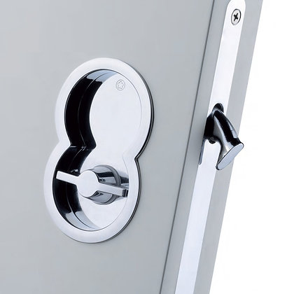 MANITAL ART85B OTTO SLIDING DOOR SET with WC TURN, FLUSH PULL & LOCK