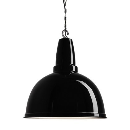 17 Inch Retro Pendant Black