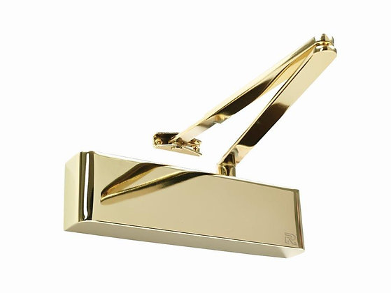 TS.5204DABC Delayed Action Back Check Overhead Door Closer PVD Brass