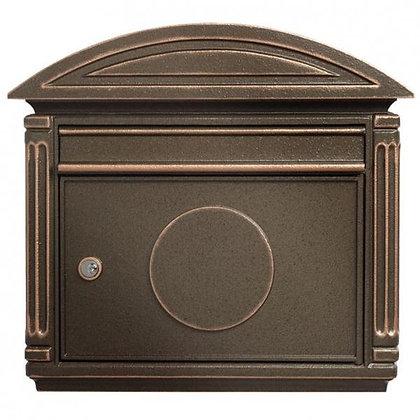 Burg Wachter Venezia Bronze Post Box Cast Aluminium