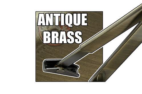 Rutland TS.9204 FBA.1 Antique Brass Flat Bar Arm Set Only   Halesowen