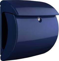 BURG WACHTER Piano Plastic Post Box - Marine Blue