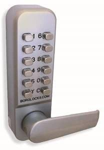 BORG BL2421 EASICODE DIGITAL LOCK BACK TO BACK