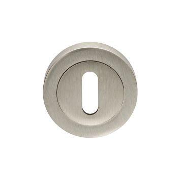 EUL002 Standard Key Satin Nickel Key Hole Escutcheon