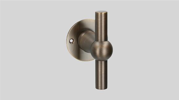 Orno Art. 124 R0-T Matt Bronze Lever Door Handles