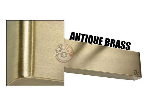 Rutland TS.9205 Antique Brass Radius Cover For Overhead Door Closer   Halesowen