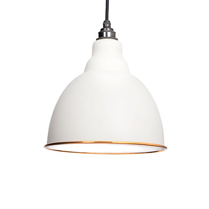 From The Anvil Brindley Pendant Accents 49507m Oatmeal