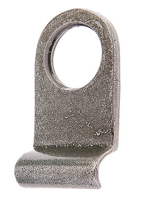 Valley Forge Front Door Cylinder Pull Handforged Pewter VF9