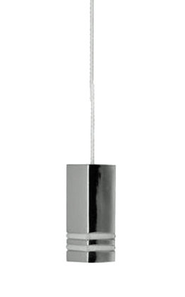 Prima Square Cord Pull (40mm x 15mm x 15mm), Polished Chrome - M695C