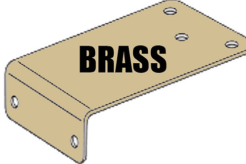 Rutland Parallel Arm Bracket PVD Brass Finish (TS.9000 Series)
