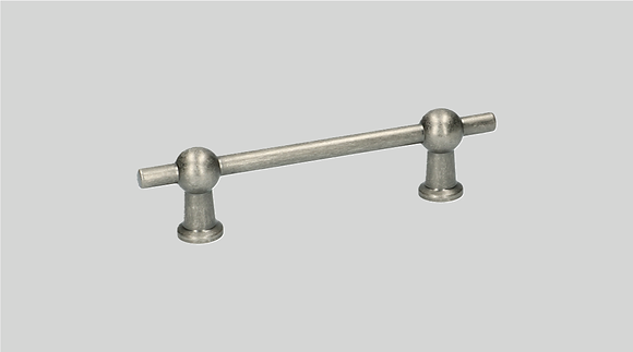 Orno Art. 124-96 Antique Pewter Cabinet Pull Handle