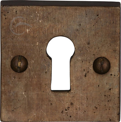 Heritage Brass RBL159 Solid Rustic Bronze Standard Key Escutcheon