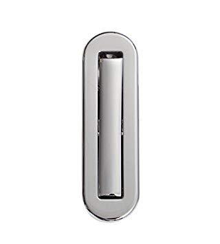 KP-3008A.PCP Polished Chrome Plate Door Edge Flush Pull