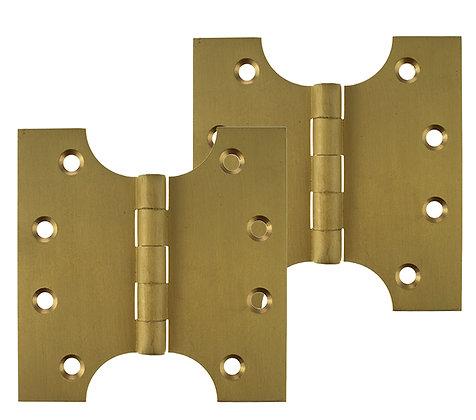 4 x 2 x 4 Inch Satin Brass Atlantic UK Parliament Hinges - APH424
