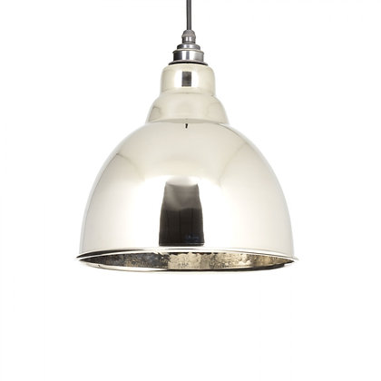 From The Anvil Brindley Pendant Hammered Nickel 49511