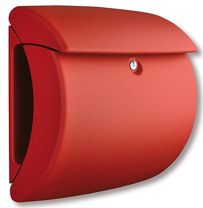 BURG WACHTER Piano Plastic Post Box - Red