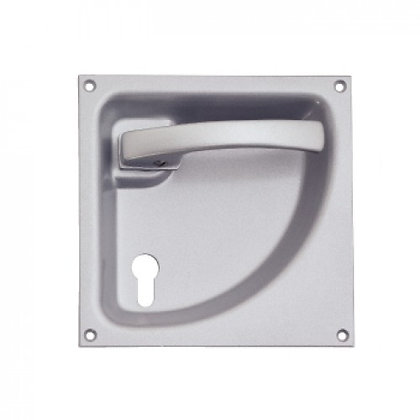 Flush Folding Door Lever Handles