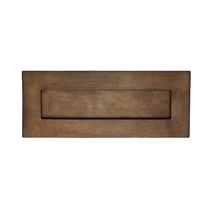 Heritage Brass RBL465.10 1/2 Solid Rustic Bronze Letter Plate