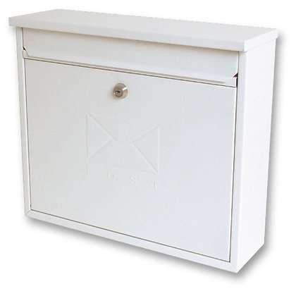 Burg Wachter Elegance Post Box White