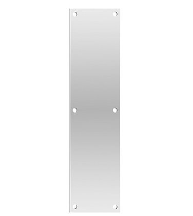 SATIN STAINLESS STEEL PUSH PLATE