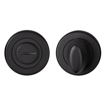 CARLISLE BRASS MATT BLACK SZM004 BATHROOM THUMBTURN & RELEA