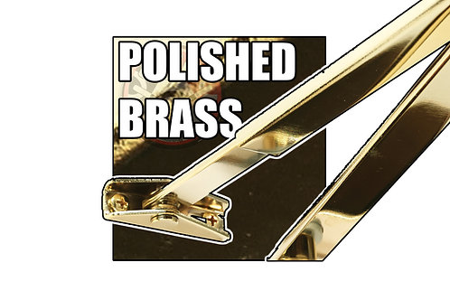 Rutland TS.5204 FBA.1 PVD Brass Flat Bar Arm Set Only (Available in Halesowen)