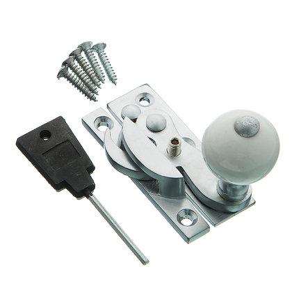 Locking Sash Fastener Hook Type with Narrow Keep