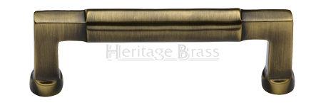 Heritage Brass Bauhaus Design Cabinet Pull Handle V0312 203MM