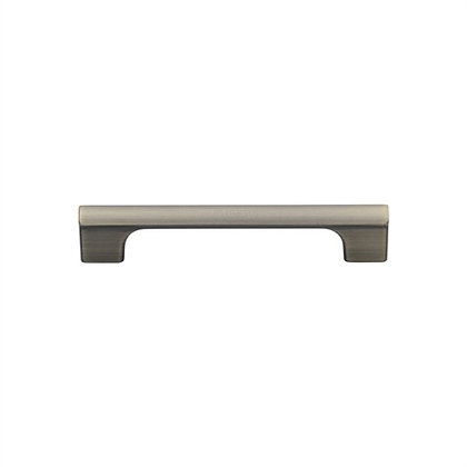 M Marcus VF102 Distressed Brass Vault Cabinet Pull Handle