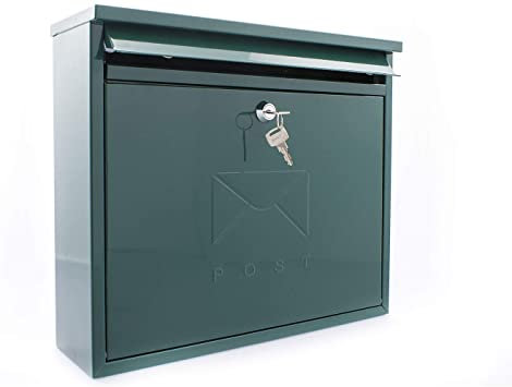 Burg Wachter Elegance Post Box Green