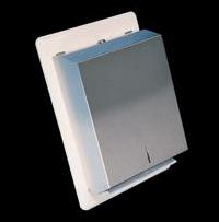 Anti ligature paper towel dispenser