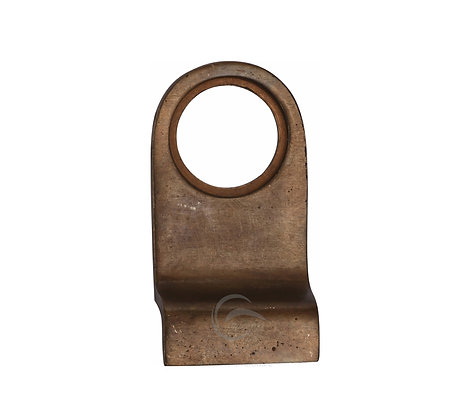 Heritage Brass RBL342 Solid Rustic Bronze Cylinder Pull