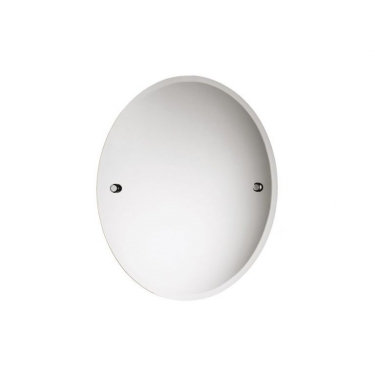 LW29CP TEMPO WALL MOUNTED OVAL MIRROR 400 x 500mm