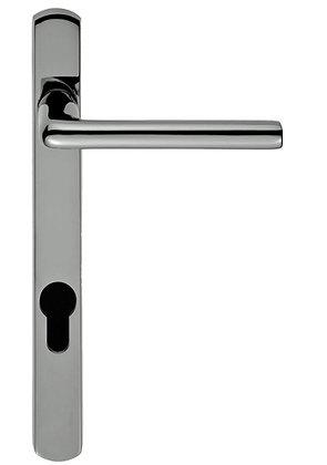 SZS01NP92 ROSA NARROW PLATE PVC DOOR HANDLE