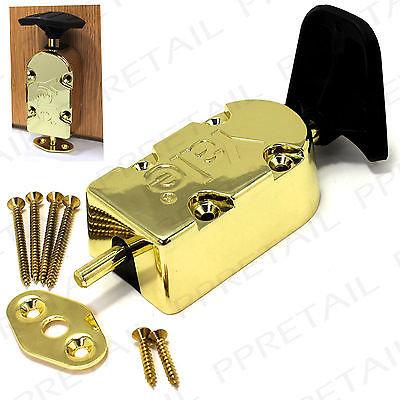 Yale Polished Brass Foot Door Bolt p-126-blx