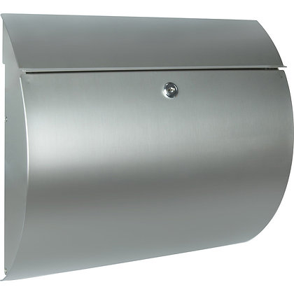 BURG WACHTER Toscana Stainless Steel Post Box