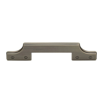 Detroit Industrial Cabinet Pull Handle (128mm C/C), Distressed Brass - VF085