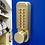 Thumbnail: BL2501 Cu ECP – Antimicrobial copper alloy Digital Door Lock