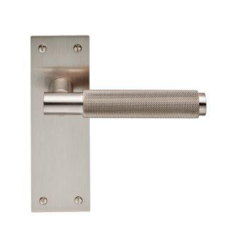 Varese EUL052 Satin Nickel Lever Latch Door Handles