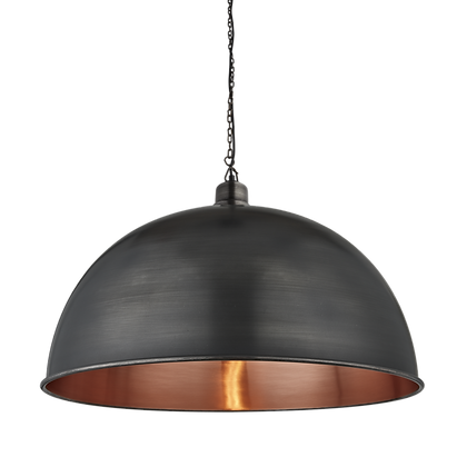 Dustville Pewter/Copper 24 Inch Giant Dome
