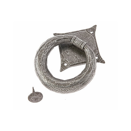Valley Forge Ring Style Pewter Door Knocker VF7