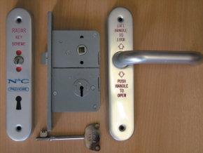 RADAR Disabled Door Lockset, National Key Scheme Lock