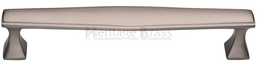 Heritage Brass 152mm Art Deco Design Cabinet Pull Handle