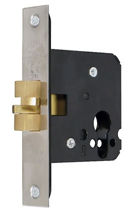 IMPERIAL LOCK G7006 EURO PROFILE SLIDING DOOR LOCK 76mm SS