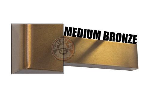 Rutland TS.9205 Medium Bronze Radius Cover For Overhead Door Closer | Halesowen