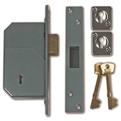CHUBB (UNION) 3G110 5 DETAINER BS MORTICE DEADLOCK 73mm