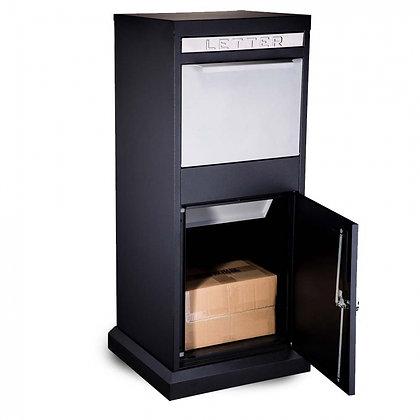 P4 Parcel Drop Box Black