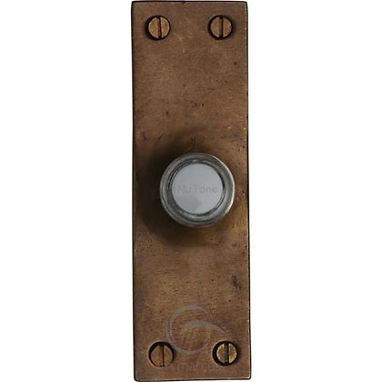 Heritage Brass RBL348 Solid Rustic Bronze Bell Push