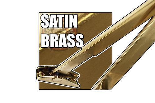 Rutland TS.9205 FBA.1 Satin Brass Flat Bar Arm Set Only